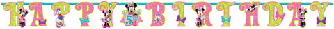 Disney Minnie Mouse Jumbo Add-An-Age Letter Banner