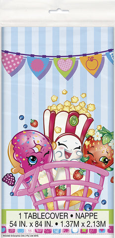 "Shopkins 1 Plastic Tablecover 54"" x 84"""