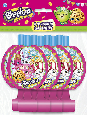 Shopkins 8 Blowouts