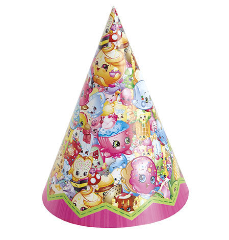Shopkins 8 Party Hats