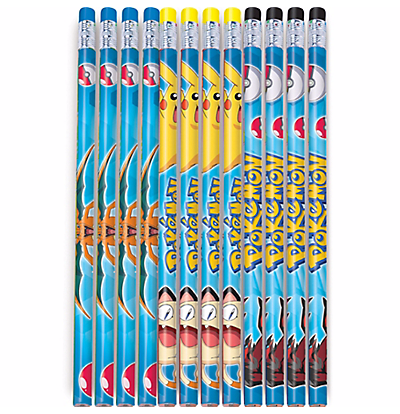 Pikachu and Friends Pencil Favors 12ct.
