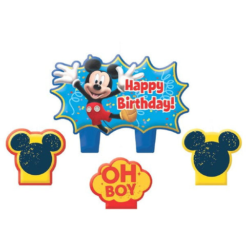 Disney Mickey Mouse Mini Molded Cake Candles