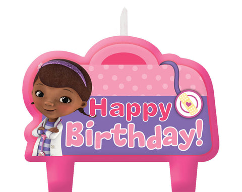 Disney Doc McStuffins Birthday Candle Set