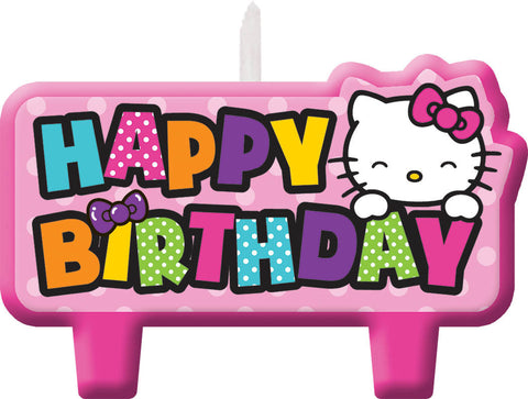 Hello Kitty Rainbow Birthday Candle Set