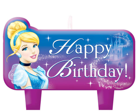 Disney Cinderella Mini Molded Cake Candles