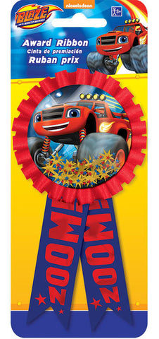Blaze and the Monster Machines Confetti Pouch Award Ribbon