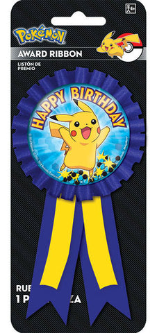 Pikachu and Friends Confetti Pouch Award Ribbon