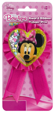 Disney Minnie Mouse Confetti Pouch Award Ribbon