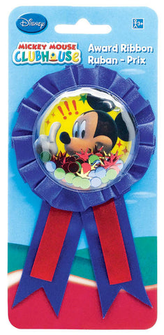 Disney Mickey Confetti Pouch Award Ribbon