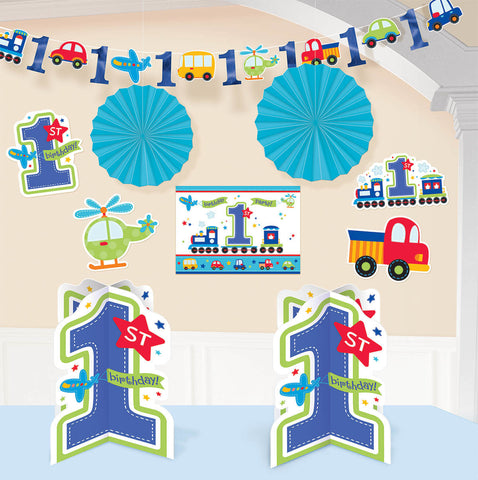 All Aboard Boy Room Decorating Kit