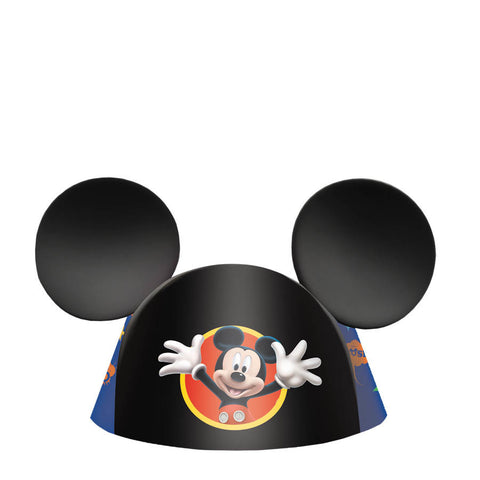 Disney Mickey Ears Die-Cut Cone Hat 8ct.