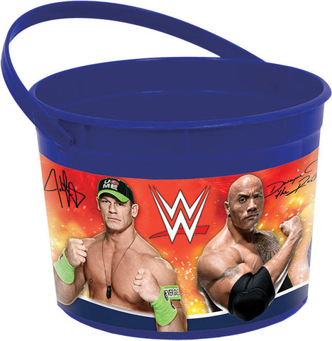 WWE Party Favor Container