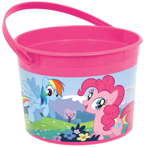 My Little Pony Friendship Plastic Favor Container