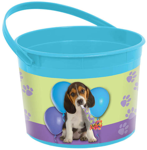 Party Pups Favor Container