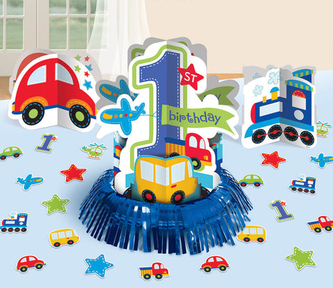 All Aboard Boy Table Decorating Kit