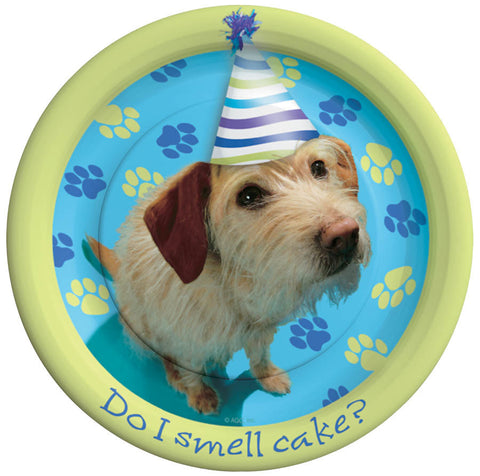 Party Pups Dessert Plates 8ct.