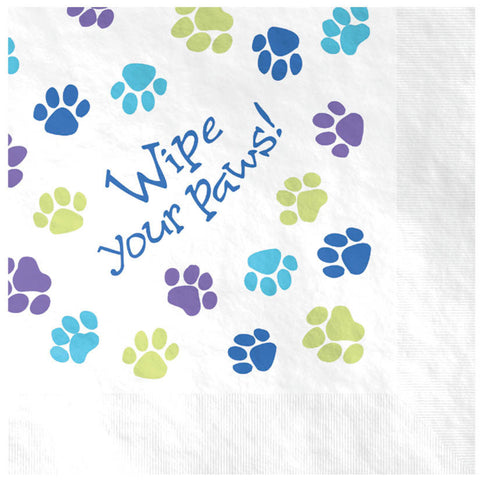 Party Pups Lunch Napkins 16ct.