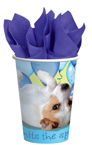 Party Pups Cups, 9oz. 8ct