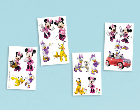 Disney Minnie Mouse Tattoos 1 Sheet 8ct.