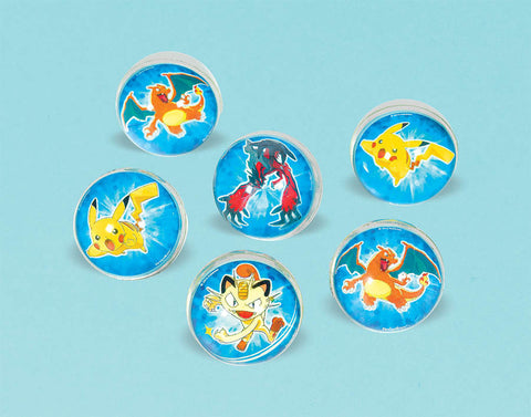 Pikachu and Friends Bounce Ball Favors 6ct.