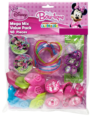 Disney Minnie Mouse 48-Piece Favor Pack