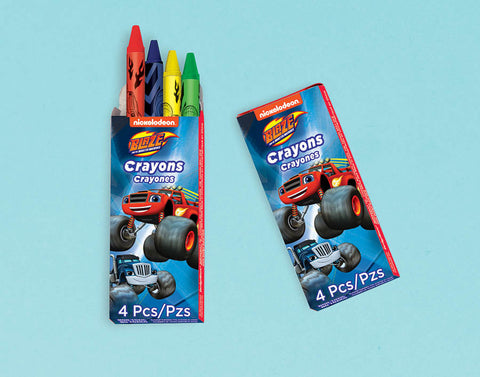 Blaze and the Monster Machines Packaged Crayons Favors
