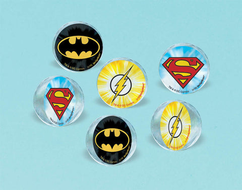Justice League Bounce Ball Favors 6ct.