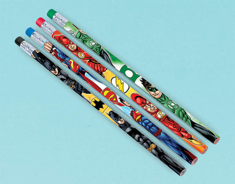 Justice League Pencil Favors 12ct.