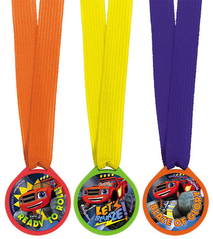 Blaze and the Monster Machines Mini Award Medals