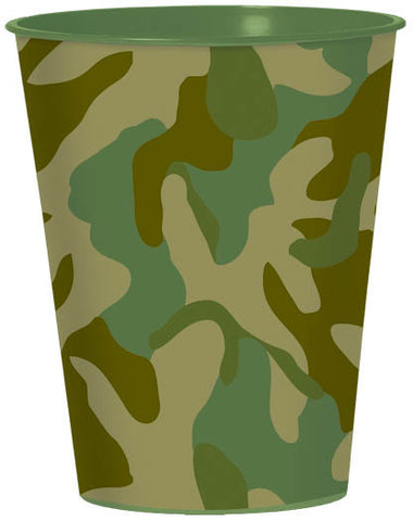 Camouflage Plastic Party Cup