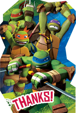 Teenage Mutant Ninja Turtles Thank You Postcards 8ct.