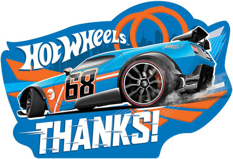 Hot Wheels Wild Racer Postcard Thank You Cards 8ct.