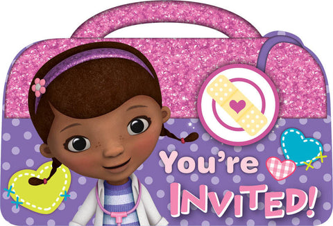 Disney Doc McStuffins Invitations 8ct.