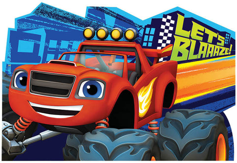 Blaze and the Monster Machines Postcard Invitations