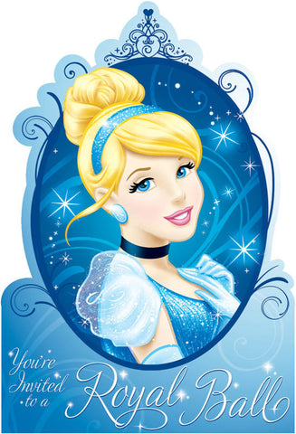 Disney Cinderella Invitations 8ct.