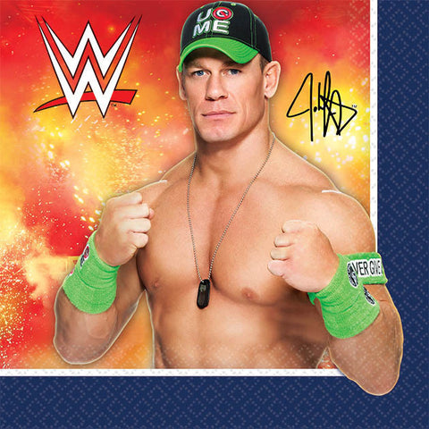 WWE Party Beverage Napkins 16ct.