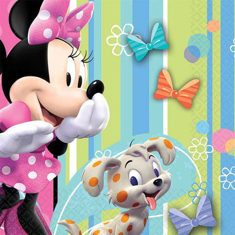 Disney Minnie Beverage Napkins 16ct.
