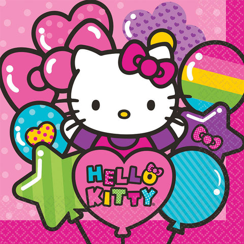 Hello Kitty Rainbow Luncheon Napkins 16ct.