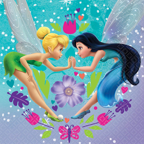 Disney Tinkerbell - Best Friends Fairies Luncheon Napkins 16ct.