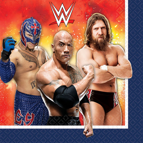 WWE Party Luncheon Napkins 16ct.
