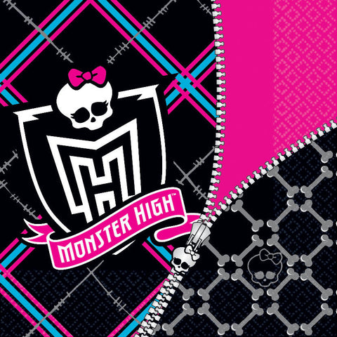 Monster High Lunch Napkins 16ct.