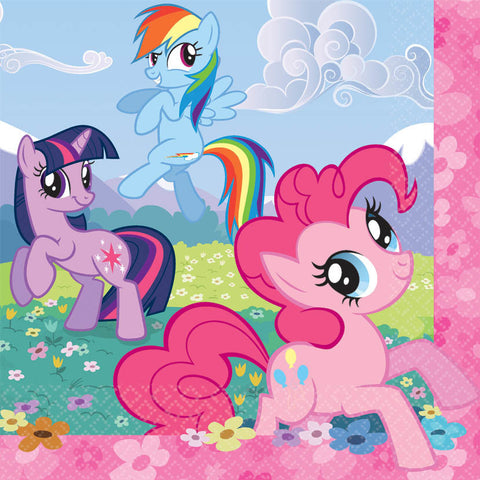 My Little Pony Friendship Luncheon Napkins 16ct.