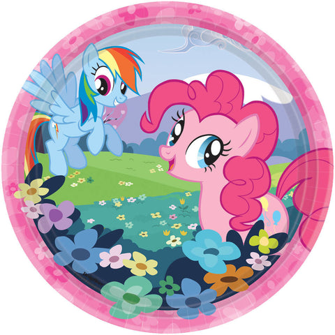 My Little Pony Friendship Dessert Plates 8ct.