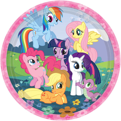 My Little Pony Friendship Dinner Plates 8ct.