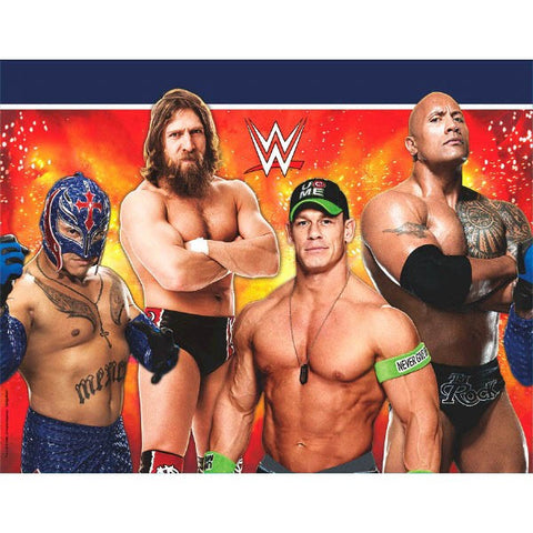 WWE Party Plastic Table Cover