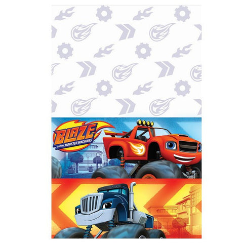 Blaze and the Monster Machines Plastic Table Cover