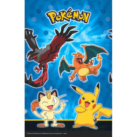 Pikachu and Friends Plastic Table Cover