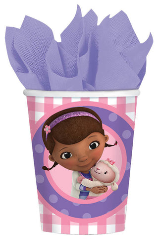 Disney Doc McStuffins Cups, 9 oz. 8ct.