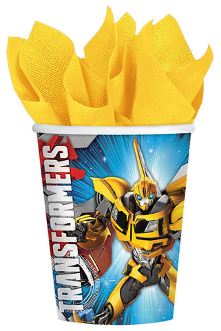 Transformers 9 oz. Cups 8ct.