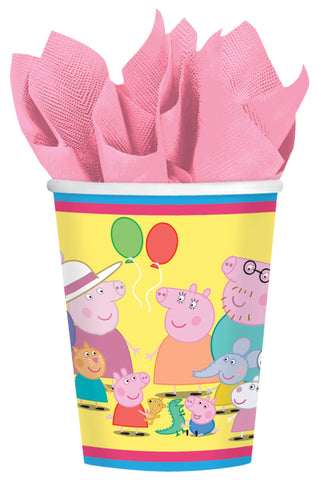 Peppa Pig Cups, 9 oz. 8ct.